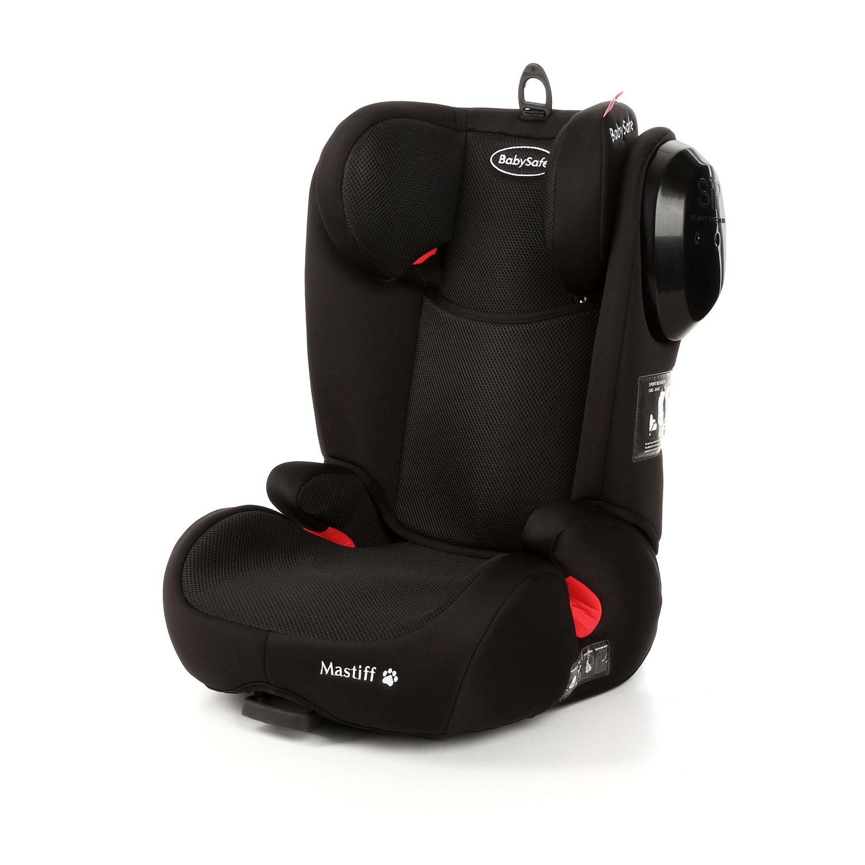 babysafe kindersitz mastiff black isofix 15 36kg ebay. Black Bedroom Furniture Sets. Home Design Ideas