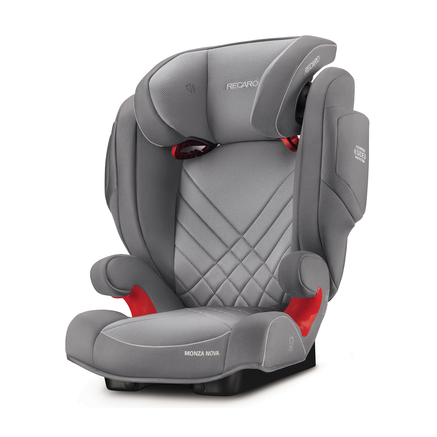 recaro monza nova is aluminium grey kindersitz 9 36 kg aluminium grey fahrzeugaufbau. Black Bedroom Furniture Sets. Home Design Ideas