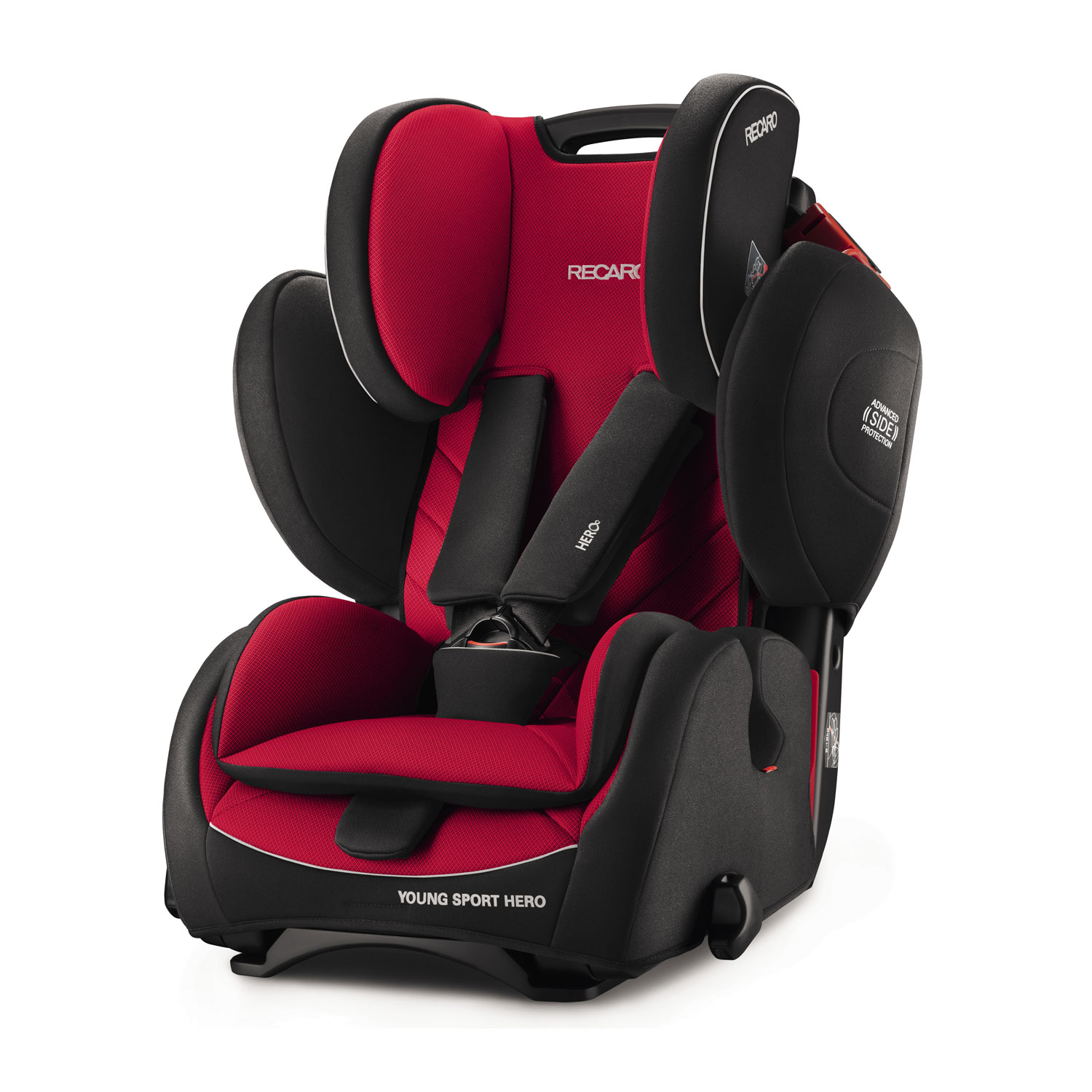 recaro young sport hero racing red auto kindersitze 9 36 kg racing red fahrzeugaufbau. Black Bedroom Furniture Sets. Home Design Ideas