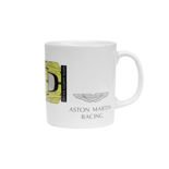 Aston Martin Racing Becher Car weiß