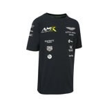 Aston Martin Racing WEC Kinder T-Shirt Team dunkelblau