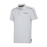 Force India Herren Polohemd Logo grau