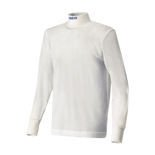 Langarmshirt Sparco SOFT-TOUCH weiß (Homologation FIA)