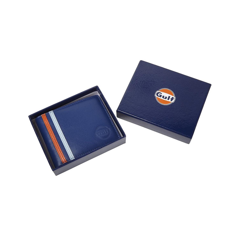 14ab902d58c008 Gulf Leder Geldbörse blau | Gadgets \ Brieftaschen Hersteller ...