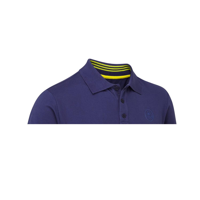 Männer Poloshirt Logo Blue Lotus Cars 2017   Bekleidungsartikel ... e817800e98