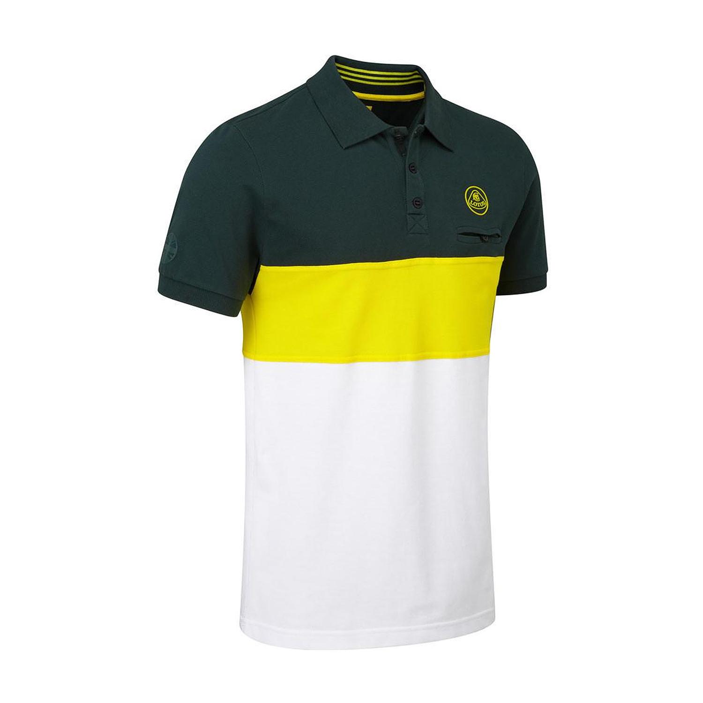 Männer Poloshirt Logo Striped Lotus Cars 2017   Bekleidungsartikel ... 0d59bdab15