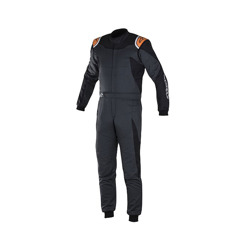 Alpinestars Rennoverall GP RACE Schwarz/Orange (mit FIA homologation)