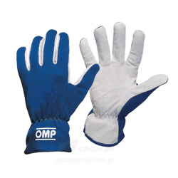 OMP Handschuh NEW RALLY blau