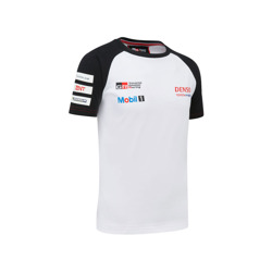 Toyota Gazoo Racing Kinder T-Shirt Team Weiß
