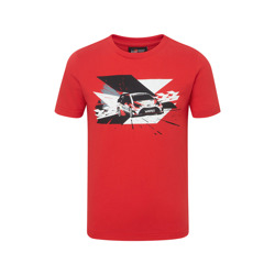 Toyota Gazoo Racing WRT Kinder T-Shirt Car Print Rot